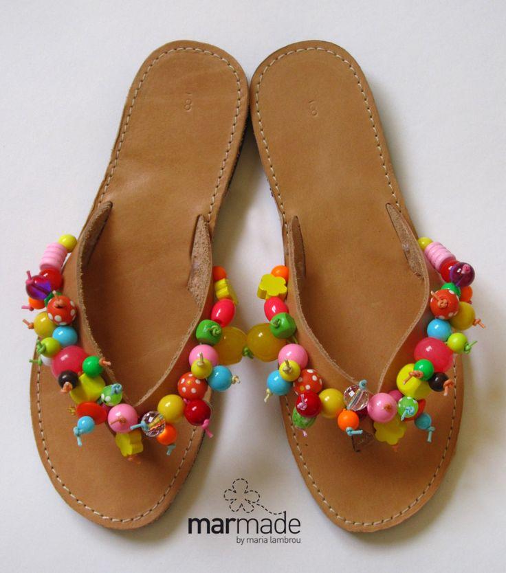 Bubble colour #flat #flip flop #summer