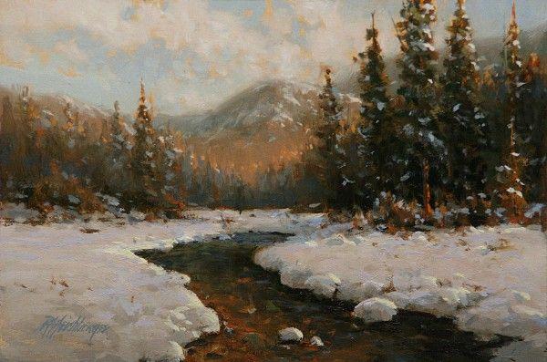 dick heichberger paintings | Alpenglow | paintings