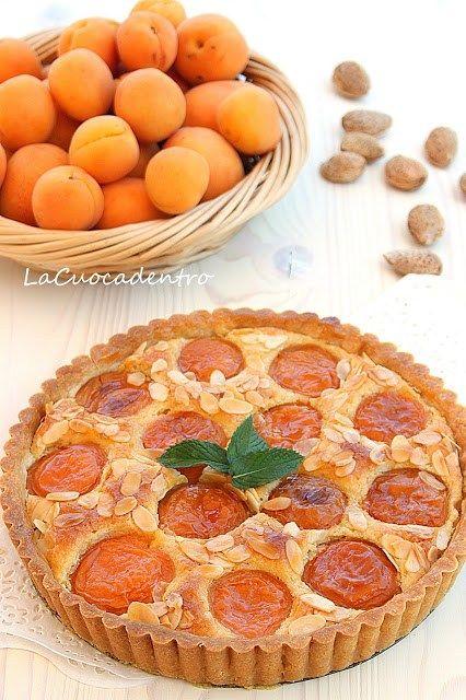 Torta frangipane e albicocche di Ernst Knam - La Cuoca Dentro