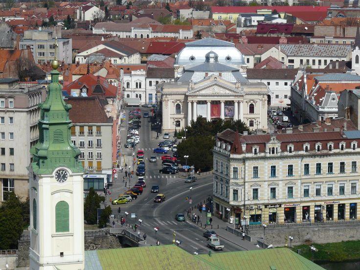 Regele Ferdinand square from above