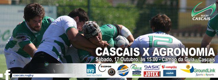 #cascais #rugby #cascaisrugby #jogosfimdesemana SENIORES – 3ª Jornada Campeonato Nacional da Divisão de Honra CASCAISX AGRONOMIA Sábado, 17 de Outubro, às 15:00 horas, em Cascais SUB ESCALÃO SENIOR – 3ª Jornada Campeonato Nacional CASCAISX AGRONOMIA Sábado, 17 de Outubro, às 17:00 horas, em Cascais SUB 18 – 2ª Jornada Campeonato Nacional MOITA X CASCAIS Sábado, …