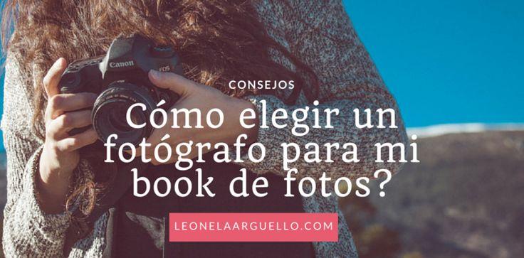 Cómo elegir un #fotografo para un#bookdefotos personal? En este post doy consejos de como poder elegir el mejor fotógrafo o fotógrafa en Córdoba para una sesión de fotos.