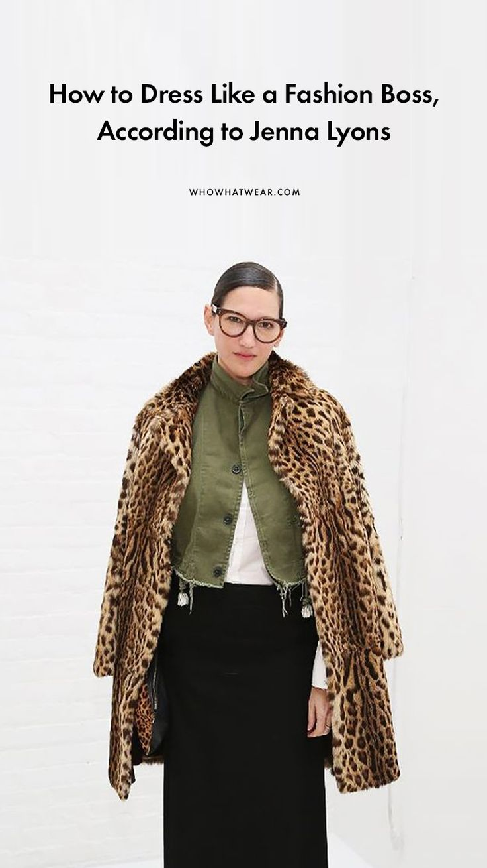 How to do power dressing like Jenna Lyons