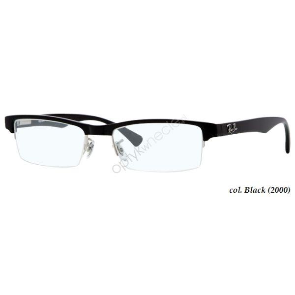Oprawa okularowa korekcyjna #RayBan:: RB 7012 col. 2000 black