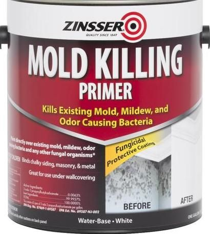 Clean And Organize Zinsser Mold Killing Primer Picture As
