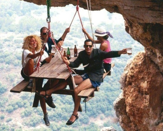 picnicking in the air