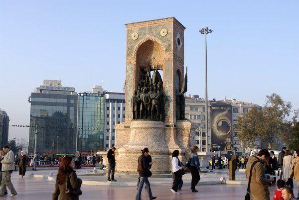 Türkiye: İstanbul: Taxim Meydani
