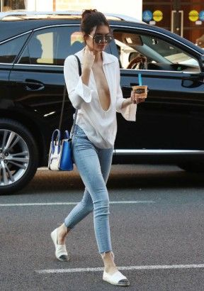 Kendall Jenner. Love the look