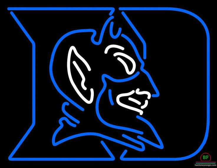 Duke Blue Devils Neon Sign NCAA Teams Neon Light