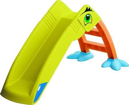 Marian Plast Горка - Пеликан  — 4607р. ------------------------- Marian Plast Пеликан горка рекомендована для детей от 1 года. Яркая горка Пеликан Marian Plast с весёлыми наклейками, придающими ей сходство с Пеликаном очень нравится малышам! Горка предназначена для использования на улице, в доме, на даче.  • для детей от 1,5 лет  • можно использовать на улице или в помещении  • очень просто собирается, инструмент не требуется  • ступеньки с фактурной поверхностью - для безопасного подъёма  •…