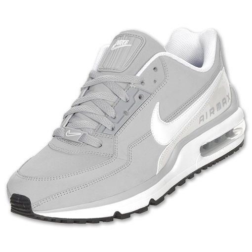 Men\u0026#39;s Nike Air Max LTD Running Shoes | Finish Line | Wolf Grey/White/