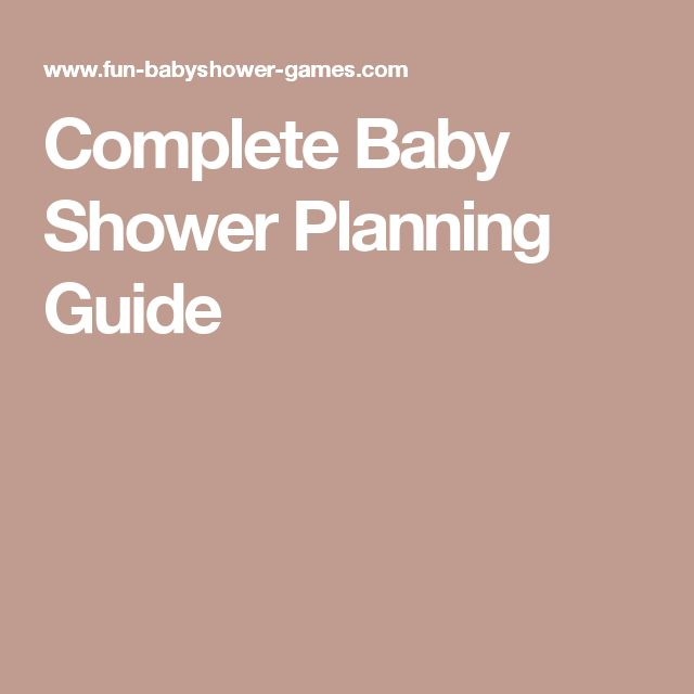 Ostesses Use This Baby Shower Planning Guide To Help You Plan The Perfect Baby  Shower.