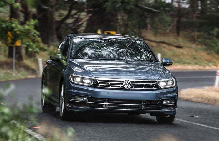 2018 VW Passat overview
