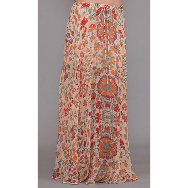 Haute Hippie American Woman Circle Skirt ❤ liked on Polyvore