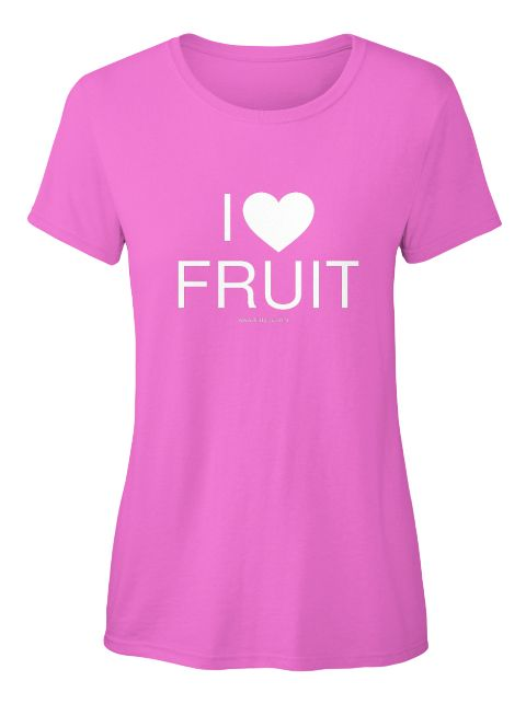 Do you have a secret love for fruit? Share it with the world and spread some more fruit love. Go check out the various colours and shapes of this tshirt on Teespring.con https://teespring.com/fruitlove?tsmac=store&tsmic=fruitylou#pid=375&cid=100053&sid=front