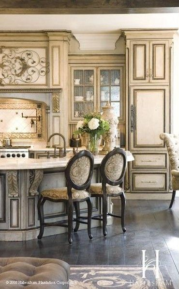 Antiques antique white kitchens and luxury kitchens on for French antique white kitchen cabinets