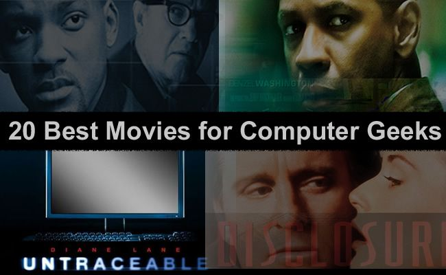 20 Best Movies for Computer Geeks