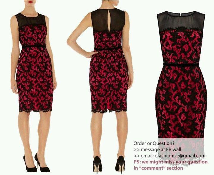 Lace brokat dress