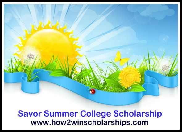 Here are some SUPER EASY College Scholarships that you can apply for in minutes! Don't miss the Savor Summer College Scholarship by how2winscholarships.com