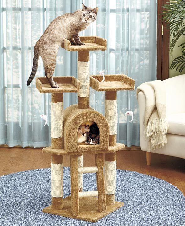 17 mejores ideas sobre torres para gatos en pinterest - Arbol gato ikea ...