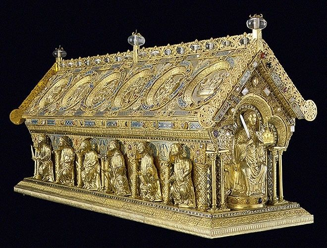 Fotogalerie Relikviář svatého Maura (Maurův relikviář)