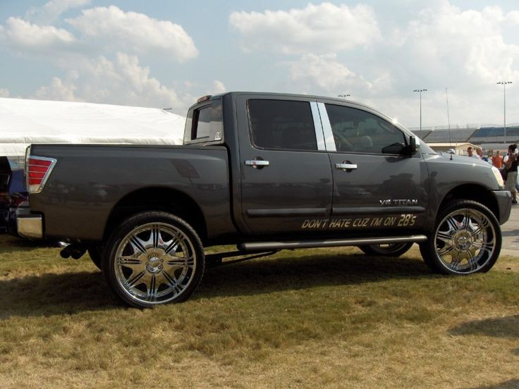 Nissan Titan On 26 Inch Rims Find the Classic Rims of Your Dreams - www.allcarwheels.com