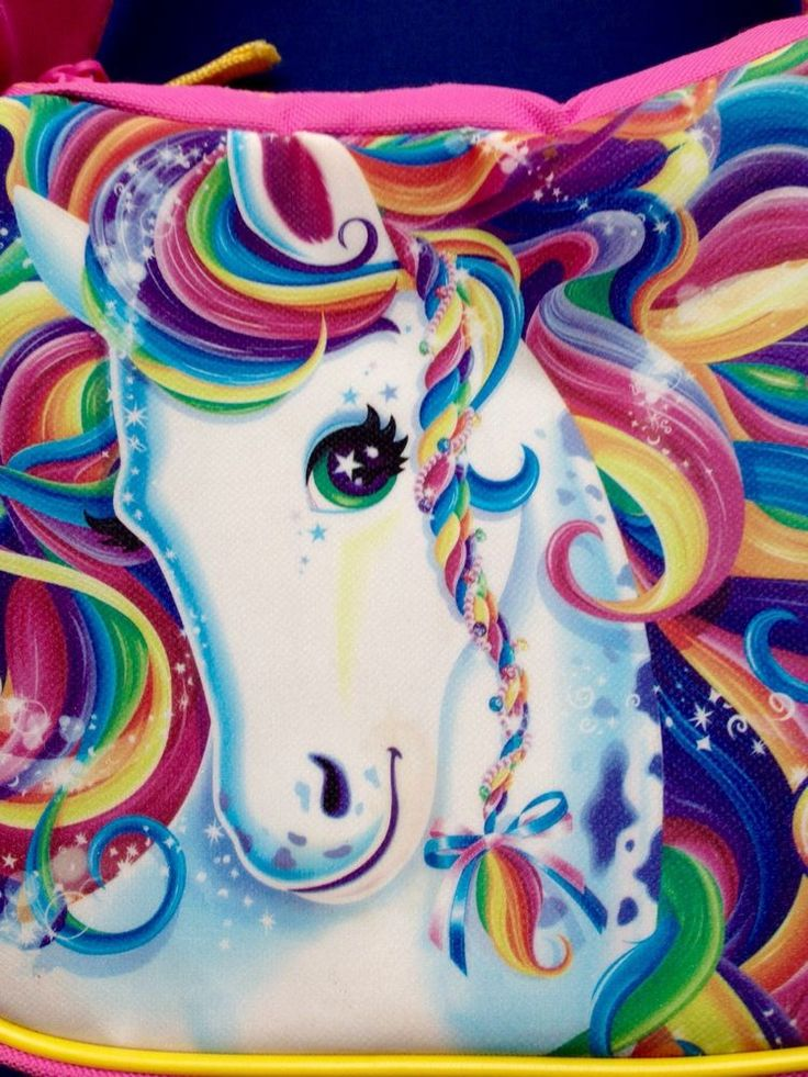 LISA FRANK Rainbow Majesty Horse Unicorn Sparkle Pink ...