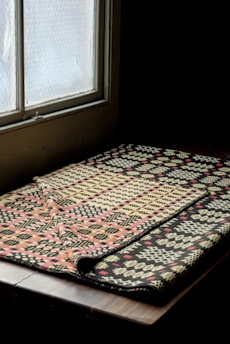 Welsh blanket at Retrouvius - Reclamation and Design