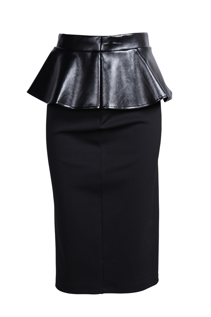 Look #1: Skirt (part of a three-piece female look)