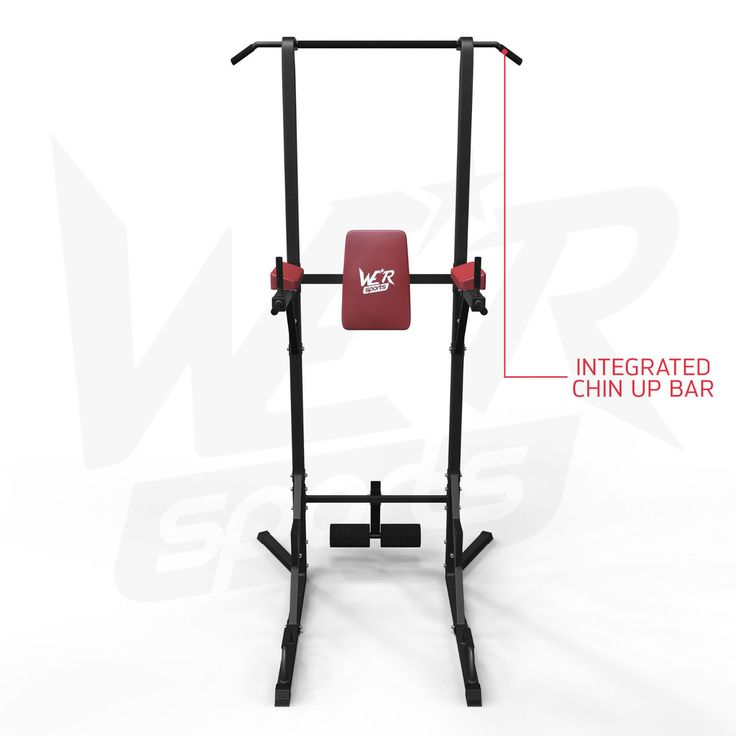 Chin Up Pull Up Sit Ups Power Tower Vertical Knee Raise Dip Station Workout Bar   eBay