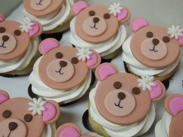 Pink Bears Cakes