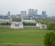 Greenwich Park Leafy Greenwich Park will host the Equestrian and Modern...    ... Pentathlon events of London 2012. It is located on the south bank of the River Thames with a view of central London and the Docklands. © AOC