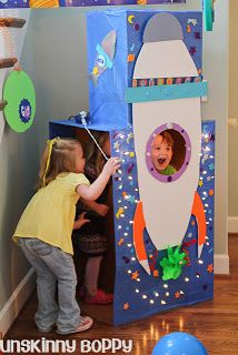 Space Derby decor.  Alpine District Cub Scouts: Other Space Derby ideas for Cub Scouts