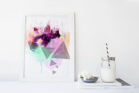 Galaxy wall art, art print, watercolor galaxy poster, abstract art, home wall decor, modern, apartment wall art, gift, poster, painting  ………………………………….…………………………………. I am a Canadian based artist. This is an archival high quality print of my original illustration. It is printed on fine art, 100% cotton, archival paper ❋FRAME NOT INCLUDED❋ ………………………………….…………………………………. ❋SIZES❋ 5 x 7 8 x 10 8.5 x 11 9 x 12 11 x 14 (shipped in mailing tube) 12 x 16 (shipped in mailing tube) 13 x 19 (shipped in…