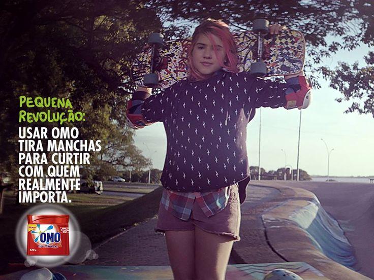 Little revolutions: OMO Tira Manchas