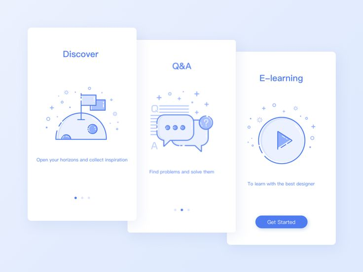 Guide page design by Freya #Design Popular #Dribbble #shots