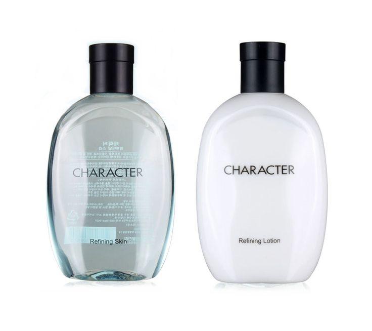 LG H&H CHARACTER REFINING for Men Skin Care Set Lotion 350ml + Skin 350ml #CHARACTERREFINING