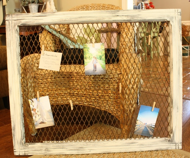 I need to make this - Old frame and screen by Coastal Charm