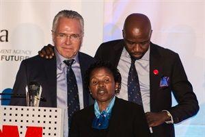 Gavin Watson, Papa Leshabane, Thandi Makoko.