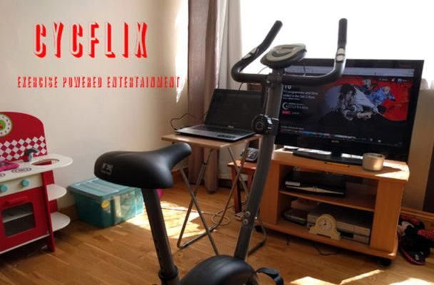 Meet the at-home spin bike that wants to power your Netflix habit