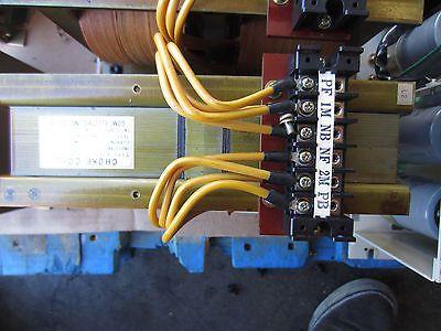 GOMI ELECTRIC E2530-254-006 8A CHOKE COIL E2530254006 OKUMA LS-N CNC LATHE