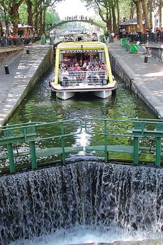 Croisière de Bastille au bassin de la Villette (19ème arr.) #balade #famille #Paris