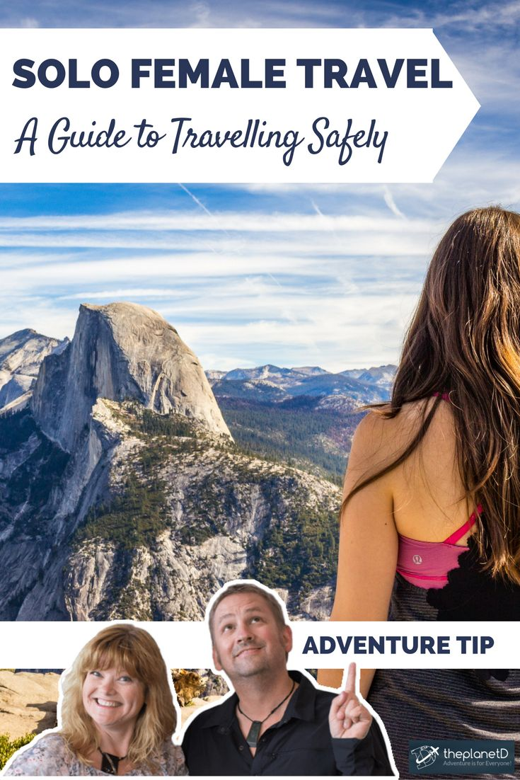 Practical tips for solo female travel. How to stay safe while travelling the world. | Blog by The Planet D: Canada's Adventure Travel Couple