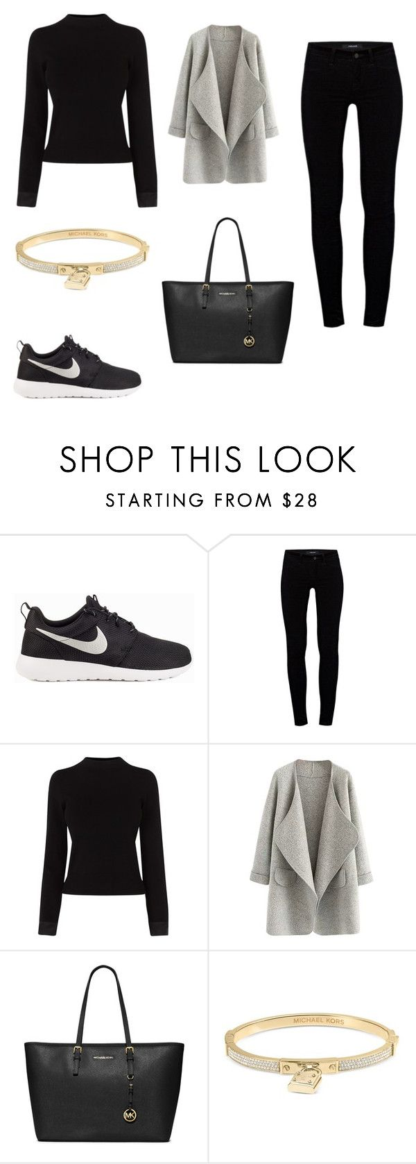 """Untitled #16"" by mariachun on Polyvore featuring NIKE, J Brand, Karen Millen, MICHAEL Michael Kors and Michael Kors"