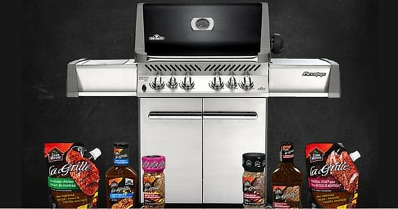 Win a Napoleon Grill From Club House
