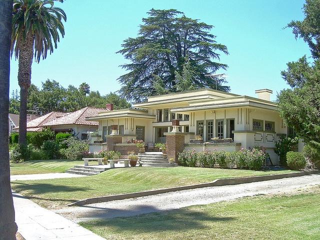 Prairie Style House, San Jose, California, built about 1913...