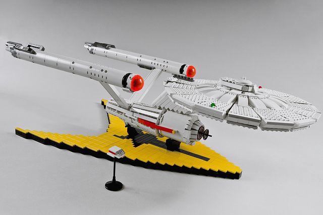 Amazing #LEGO USS Enterprise NCC-1701 by icgetaway