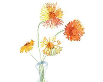 Articoli simili a Pastello del fiore pittura ad acquerello botanico carta stampa segnalibri - segnalibri floreali blu - regalo lettore - natura arte stampa segnalibri su Etsy