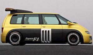 Renault Espace with F1 engine and 810hp