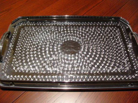 Ranleigh Tray ... 1960's Gallery Serving Tray by DecorativeVintage